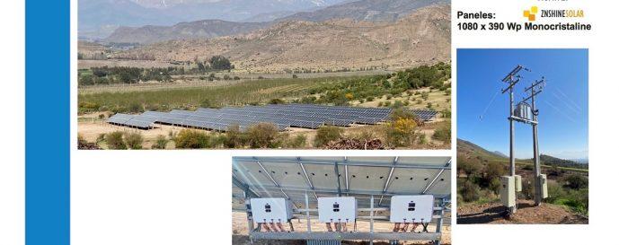 Proyecto Rinconada de Los Andes con Solcor Chile